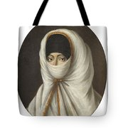 A Veiled Lady Tote Bag