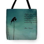 A Verse For Photographers Tote Bag