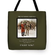 A Veteran's Farewell - Ww1 Tote Bag