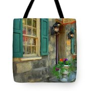 A Victorian Tea Room Tote Bag