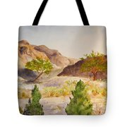 A View At Red Rock Tote Bag