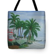 A View Down Ft. Myers Beach Tote Bag