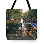 A View Down The Keizersgracht Canal Tote Bag