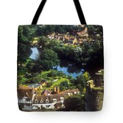 A View From Blarney Castle In Ireland Tote Bag