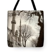 A View From Blue Mosque Tote Bag