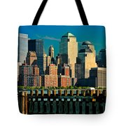 A View From Hoboken Tote Bag