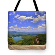 A View From Table Rock South Carolina Tote Bag