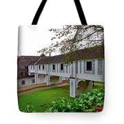 A View From The Cesky Krumlov Castle Gardens At Cesky Krumlov, Czech Republic Tote Bag