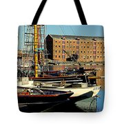 A View From The Docks Tote Bag