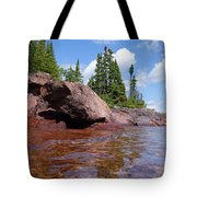 A View From The Lake Tote Bag