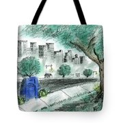 A View From The Park Tote Bag