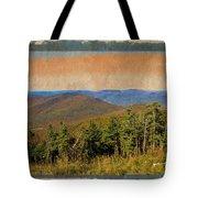 Equinox Mountain, Vermont.             Tote Bag