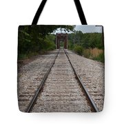 A View From The Tracks Tote Bag