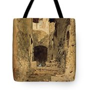 A View In Subiaco Tote Bag