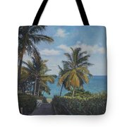 A View In The Virgin Islands Tote Bag
