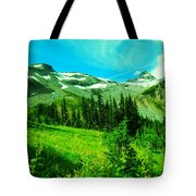 A View Into Paradise Tote Bag