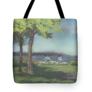 A View Of 103 Kenton Row Tote Bag