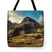 A View Of Glencoe. Tote Bag