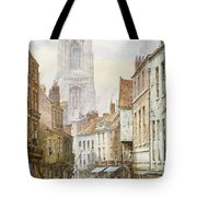 A View Of Irongate Tote Bag by Louise J Rayner