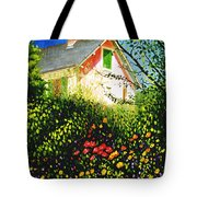 A View Of Monets House In Giverny France Tote Bag