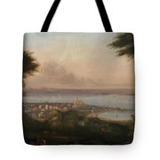 A View Of Penzance Tote Bag
