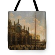 A View Of St. Mark's Basilica Tote Bag