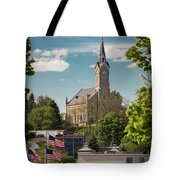 A View Of St Mary's Tote Bag