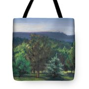 A View Of The Catskill Mountains Tote Bag