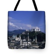 A View Of The City Of Salzburg From An Tote Bag