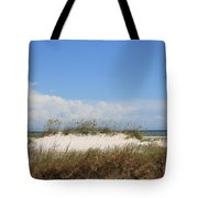 A View Of The Dunes Tote Bag