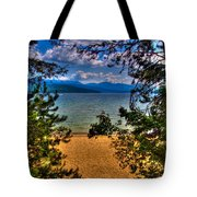 A View Of The Lake Tote Bag