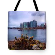 A View Of Vancouver Tote Bag