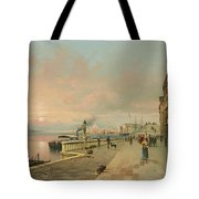 A View Of Venice Tote Bag