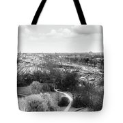 A View On Ghent Tote Bag