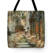 A View On The Sacre Coeur Tote Bag