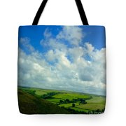 A View Over Exmoor Tote Bag