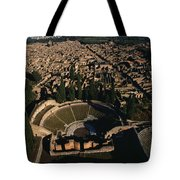 A View Over Pompeii Toward Mount Tote Bag
