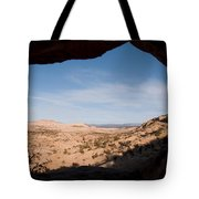 A View Through A Window Into The Grand Tote Bag