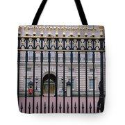 A View Through The Gates At Buckingham Tote Bag