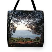 A View To The Sea Tote Bag
