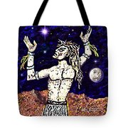 A  Viking Warrior  Tote Bag