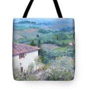 A Villa In Tuscany Tote Bag