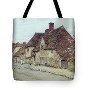 A Village Street Kent Tote Bag by Helen Allingham