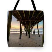 A Virginia Beach Morning Tote Bag
