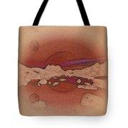 A Vision Of An Alien Landscape Tote Bag