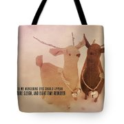 A Visit From Saint Nicholas Quote Tote Bag