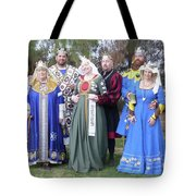 A Visit With Royalty Tote Bag