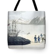 A Voyage Of Discovery Tote Bag