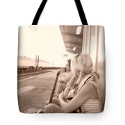 A Waiting Game Tote Bag