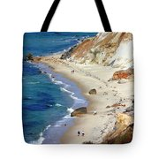 A Walk Along Aquinnah Beach Tote Bag